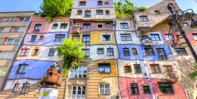 Hundertwasser house Getty Images 955154214